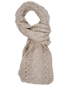 Solid Purl Knit Scarf $15