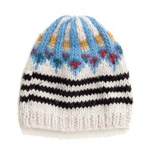 Fair Isle Handknit Hat $60