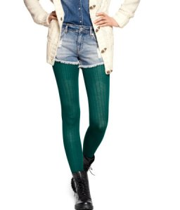 Cable-Knit Tights $10