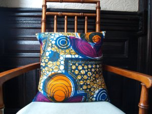 """Nile Lotus"" Throw Pillow $30, etsy"