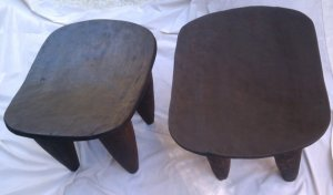 "Senufo Stool/Side Table "" $400, africanhouse via etsy"