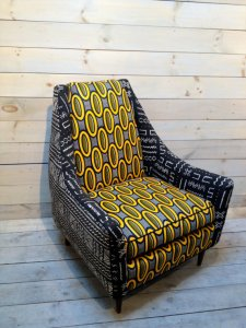 """Danish Mid-Century Chair"" $1320, chezboheme"