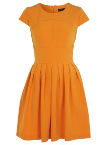 Miss S Orange Dress