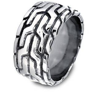 Men's Aztec Paterrn Ring, $20 at Wayfair