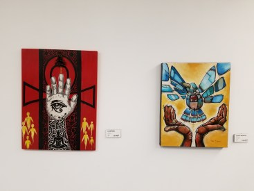 artists, L to R: Lord Yatta and Grant Searcey